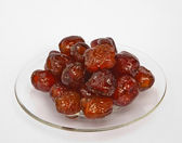 Jujube in Syrub — Stock Photo