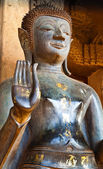 Standing Vintage Buddha Image — Photo