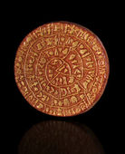 Phaistos Disc from Crete — Stock Photo