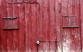 Red Barn wall — Stock Photo