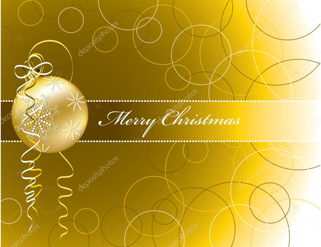 Christmas Background — Stock Vector #3977913
