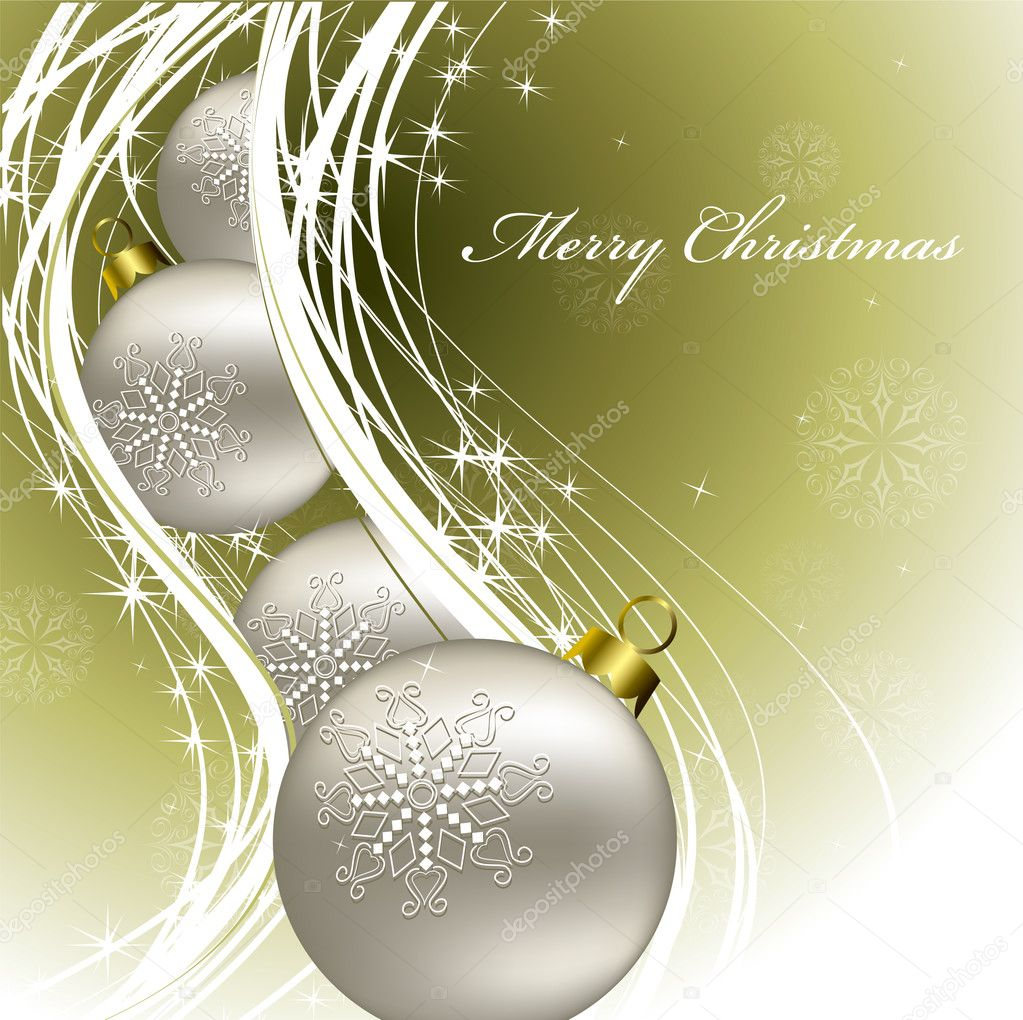 Christmas Background  Stock Vector #3977918