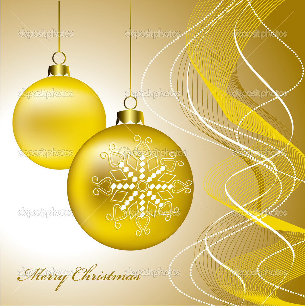Christmas Background. Vector Illustration. eps10. — Stock Vector #4017302