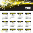 Royalty-Free Stock Vector Image: 2011 Calendar. Vector Illustration.