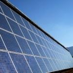 Solar panels — Stock Photo #4037740