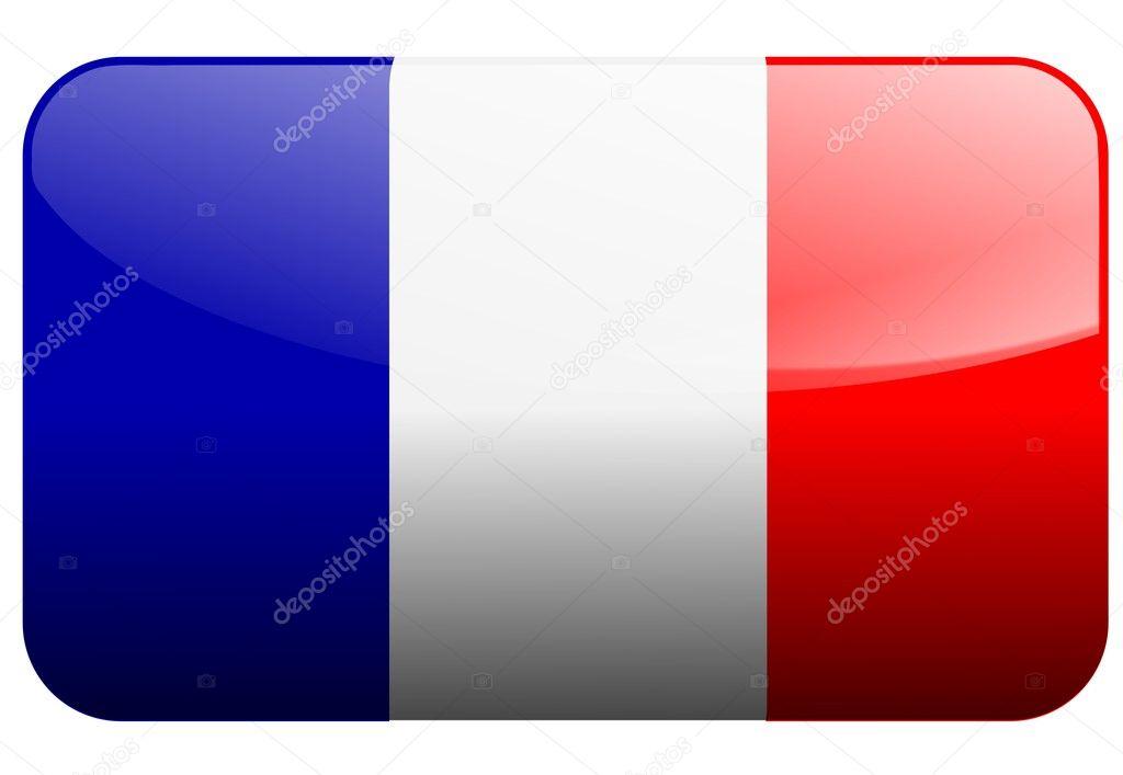 法国国旗 — 图库矢量图像08