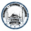 Istambul stamp — Stock Vector