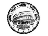 Rome stamp — Stock Vector