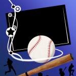 Baseball banner — Stock Vector