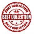 Best collection stamp — Stock Vector