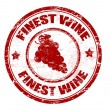 Finest wine stamp — Stock Vector #4160888