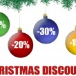 Royalty-Free Stock Vector Image: Christmas balls discount