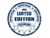 Limited Edition stamp — Stock Vector