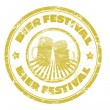 Bier Festival stamp — Stock Vector
