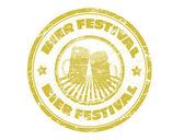 Bier festivalu razítko — Stock vektor