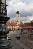 Tower in the old town — Stock Photo