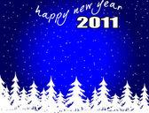 Nowy rok tło — Wektor stockowy