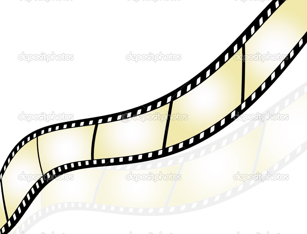Film strip background with place for text — Stock Vector #4334762