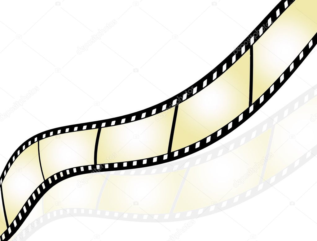 Film strip background stock illustration