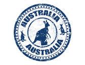 Australia stamp — Stock Vector