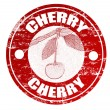 Royalty-Free Stock Vector Image: Cherry stamp