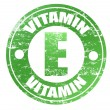 Stock Vector: Vitamin E