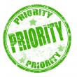 Priority stamp - Stock Vector