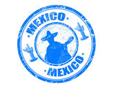 Mexico stamp — Stock Vector