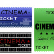 Royalty-Free Stock Vector Image: Cinema tickets