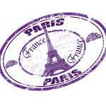 Paris stamp — Stock Vector