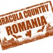Dracula country Romania — 图库矢量图片