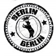 Berlin stamp - Stock Vector