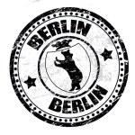 Berlin stamp — Stock Vector