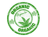 Organic stamp — Stock Vector