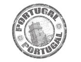 Portugal stamp — Stock Vector