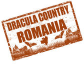 Dracula land Roemenië — Stockvector