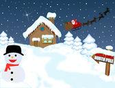 Santa — Stock Vector