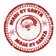 Made by Santa stamp - Stock Vector