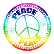 Peace stamp — Stock Vector #4437472