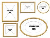 Colección frame vector — Vector de stock