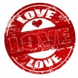 Love stamp — Stock Vector #4568662