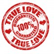 Stock Vector: True love stamp