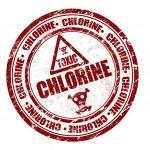 Chlorine stamp — Stock Vector #4585526