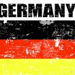 Germany grunge flag — Stock Vector