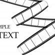 Film strip — Vector de stock #4622263