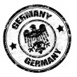 Stock Vector: Germany stamp