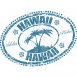Hawaii stamp — Stock vektor