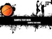 Basketbal poster — Vector de stock