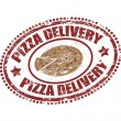 Stock Vector: Pizzdelivery