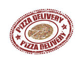 Pizza delivery — Stock Vector